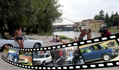'Di padre in figlia', le auto storiche della fiction Rai in tour a Bassano e dintorni per un ritorno agli anni '50/80. Ci sarà la Capotondi?