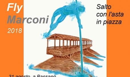 Fly Marconi, salto con l'asta in piazza a Bassano del Grappa il 31 agosto. Ecco il video ufficiale