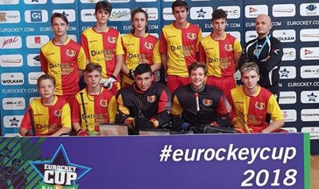 L'hockey giallorosso batte un colpo in Europa: diciassettenni d'assalto