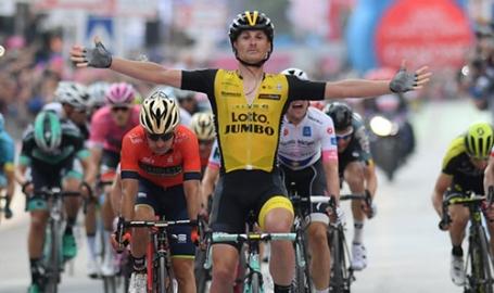 Giro d'Italia, Marostica emozionata: Battaglin (un nome una garanzia) vince in Sicilia. Lui l'aveva detto