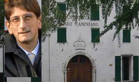 Campedelli in visita ai capolavori del Canova: 'Fusione Chievo e Verona? Sarebbe logico, ma... Io interista? Sì, ma non ditelo'