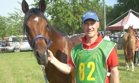 Fabrizio e Sanur, l'uomo e il cavallo alleati per l'endurance