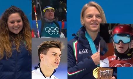 Olimpiadi in Corea. Michela, Arianna, Dominik, Nicola e Ester, le pagine più belle. E quel compagno di viaggio scomodo per tutto lo sport