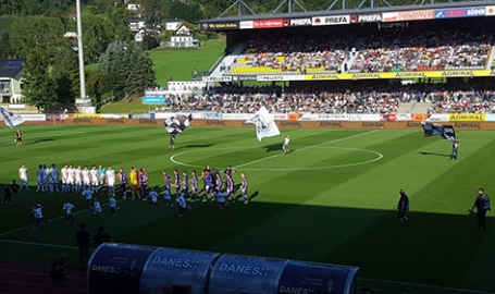 Calcio carinziano: nella tana dei lupi della piccola Wolfsberg, la sorpresa 'di provincia' che attende i figli della lupa giallorossa in Europa League