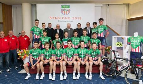 La Zalf 2018 si presenta. Linea verdissima, benedizione del 'mondiale' Ballan e il ds Faresin: 'Gruppo molto grintoso'